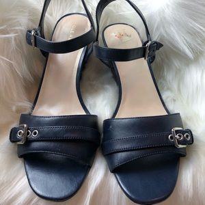 Cole Haan Navy Sandals with heels